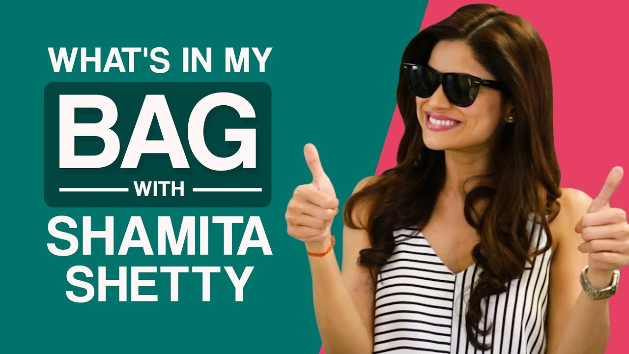 What's in my bag with Shamita Shetty | Pinkvilla | S01E01 | Bollywood | Lifestyle