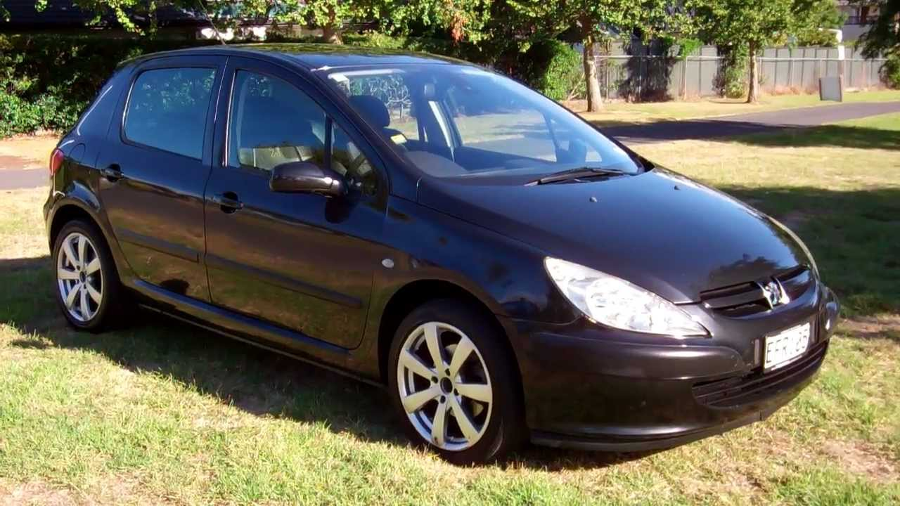 2003 peugeot 307 hatch 1 reserve cash4cars cash4cars sold youtube. Black Bedroom Furniture Sets. Home Design Ideas