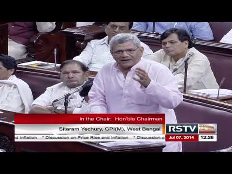 Mr. Sitaram Yechury's speech on the discussion on Price Rise and Food Inflation