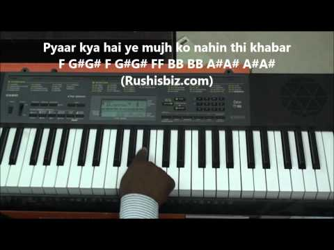 Main Shayar To Nahin - Piano Notes - Tutorials | 7013658813 - PDF NOTES/BOOK - WHATS APP US