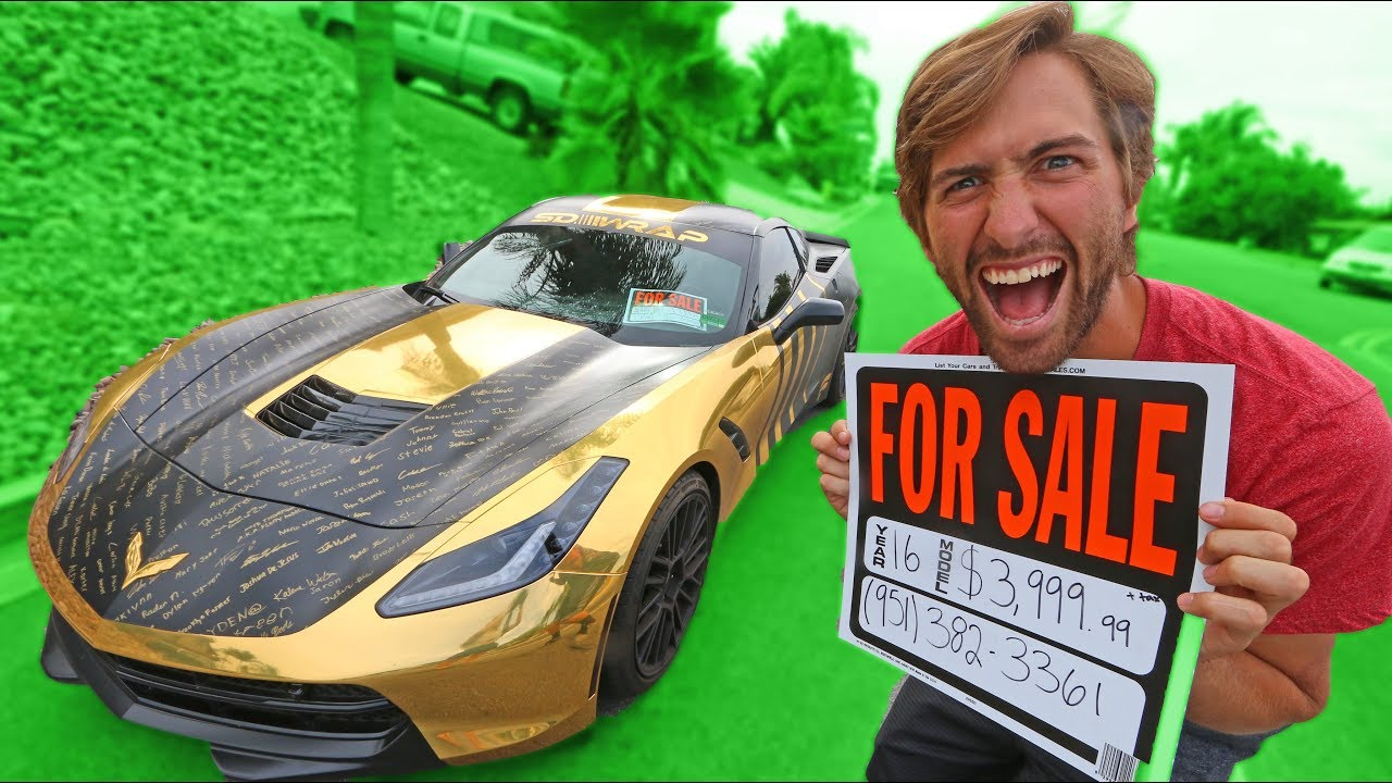 selling-my-brothers-gold-corvette