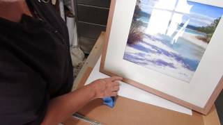How to frame a pastel painting. - Pastel painting course 17