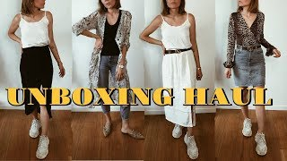 Big Unboxing Haul & Try On - Zara, &OtherStories, Cult Gaia, Kayu