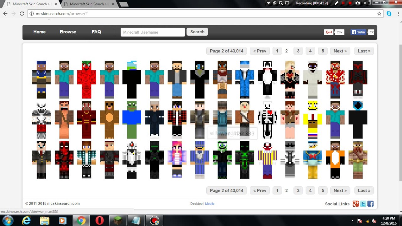 UPDATED How To Get A Cracked Minecraft Skin YouTube - Minecraft skins fur cracked version