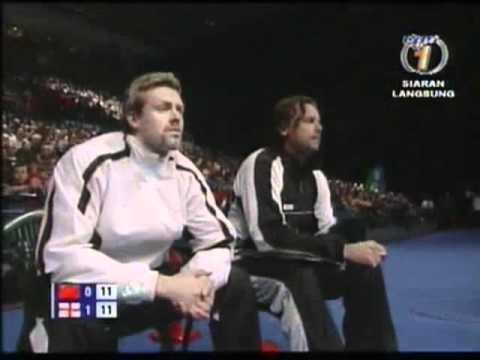 all england open 2007 Ling GAO Bo ZHENG vs Anthony CLARK Donna KELLOGG All England Open 20071