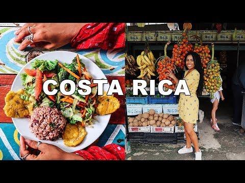 Exploring INCREDIBLE FOOD In COSTA RICA Vlog! | Vegan