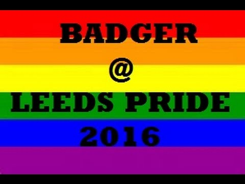 'Badger @'  Leeds Pride 2016