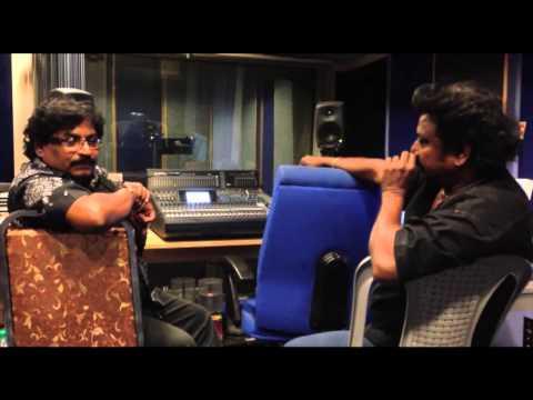 Inaiya Thiruda at song recording