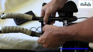 How to install the Wahoo Fitness Aerobar mount.