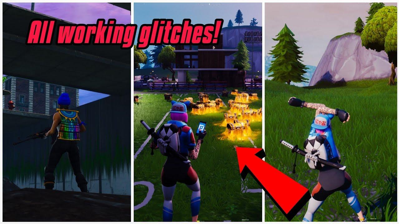 Make Your Character Giant Glitch In Fortnite New Fortnite Glitches Season 7 Ps4 Xbox One Youtube