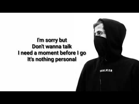 Alan Walker On my way lyrics ft Sabrina - YouTube