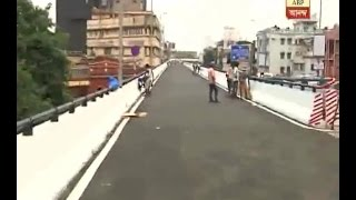 a part of ajc bose flyover will start very shortly