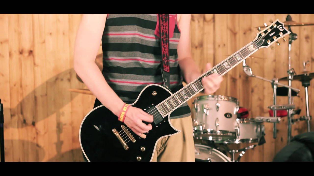 esp ltd ec 1000 deluxe electric guitar black demo by fixingthestrings studios gear in. Black Bedroom Furniture Sets. Home Design Ideas