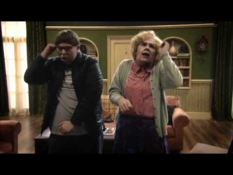 Maureen and David's Superman Dance Off - Psychoville - BBC