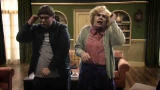 Maureen and David's Superman Dance Off - Psychoville - BBC