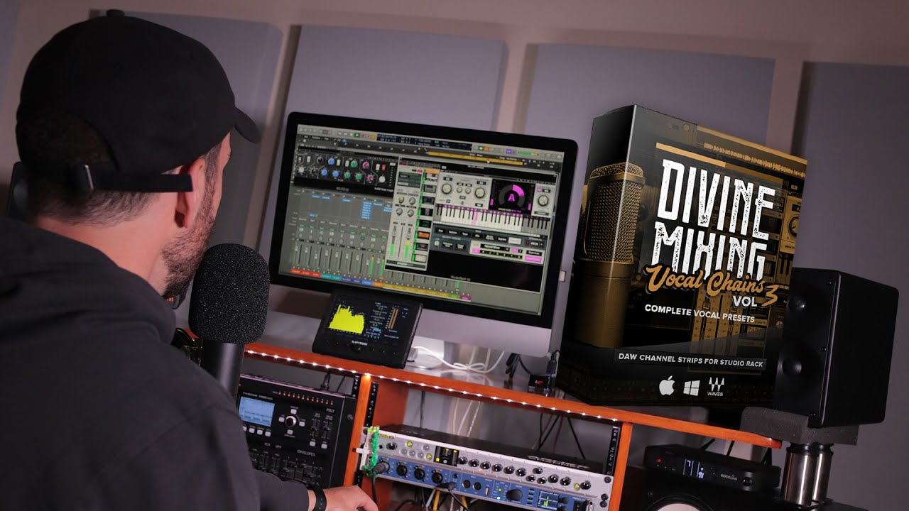 Divine Mixing - Vocal Chains V3 Presets for Waves (Demo)