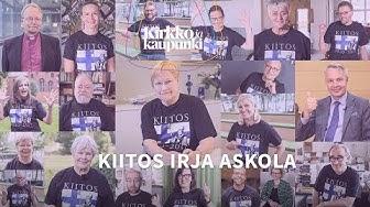 """Tunnetut vaikuttajat kiittävät Irja Askolaa – """"Ihmisyydestä ei jäädä eläkkeelle"""""""