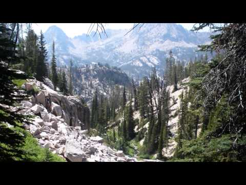Backpacking the Sawtooth Wilderness, Idaho HD - Iron Crk TH to Alturas Lk TH