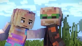 Felix and Marzia (Minecraft animation)