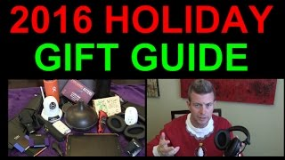 2016 Holiday Christmas Gift Guide Best Electronics Gadgets Unique Gifts Tech Geeks Kids Adults All