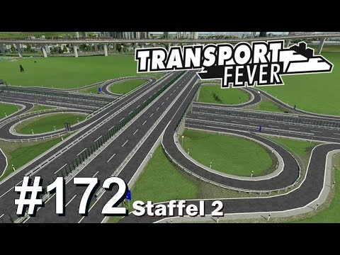 TRANSPORT FEVER S2/#172: Taxi-Stände & Autobahnkreuz [Let's Play][Gameplay][German][Deutsch]