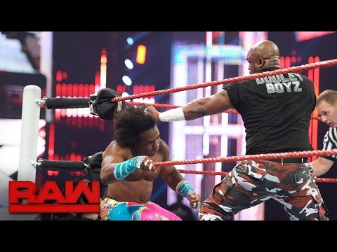 The New Day vs. The Dudley Boyz: Raw, Aug. 15, 2016