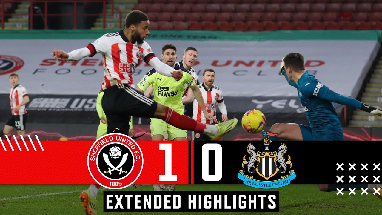 Sheffield United 1-0 Newcastle United | Extended Premier League highlights