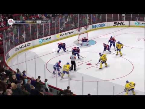 NHL 14 Online - Full Game Sweden VS Slovakia