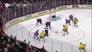 NHL 14 Online - Full Game Sweden VS Slovakia