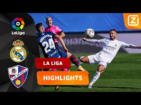 FANTASTISCH POTJE VOETBAL ⚽   Real Madrid Vs Huesca   La Liga 2020/21   Samenvatting