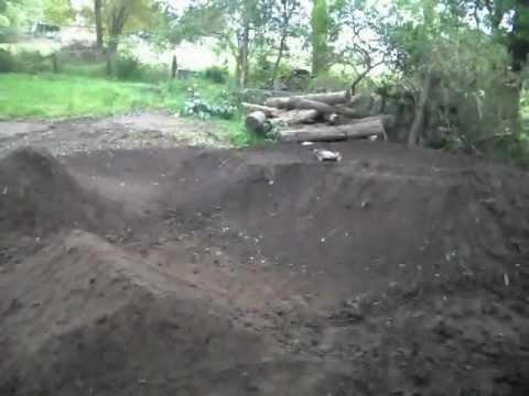 Awesome rc track NEW!! (Homemade backyard track rebuild ...