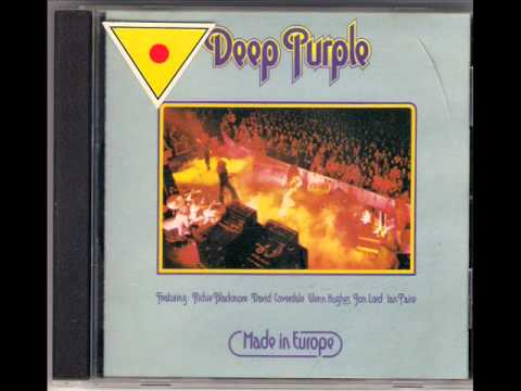 DEEP PURPLE MADE IN EUROPE TITLE MISTREATED 1975wmv