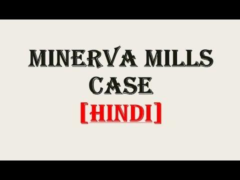 Minerva mills Vs Union of India Case, 1980