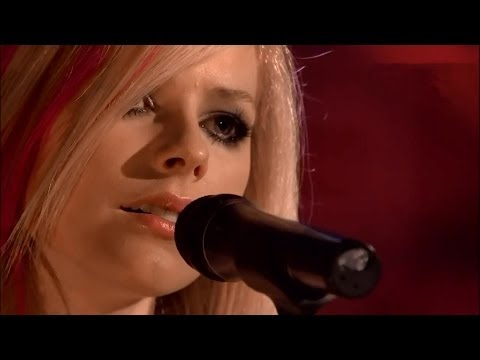 Avril Lavigne ☆ Knockin' on Heaven's Door ☆ Acoustic_live