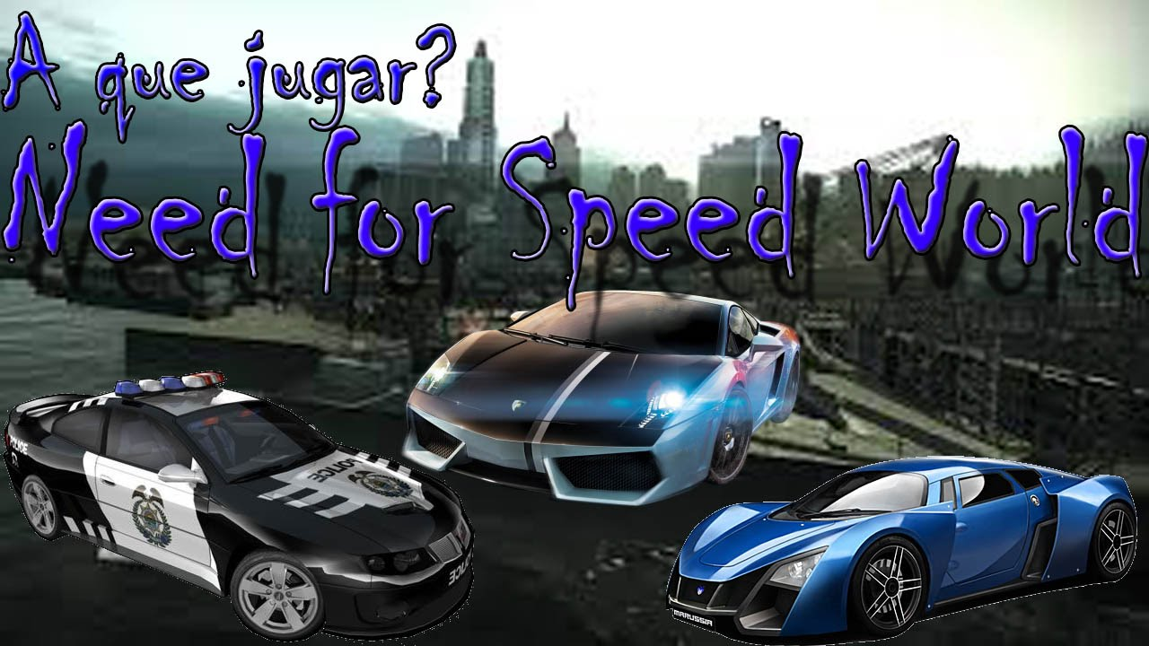 Analisis Need For Speed World Espa Ol A Que Jugar Youtube