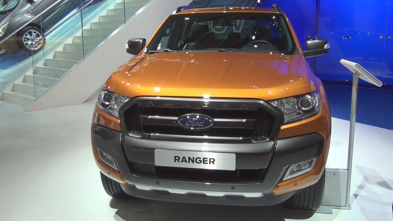 Ford Ranger Wildtrak 32 TDCi Double Cab 2016 Exterior And Interior In 3D