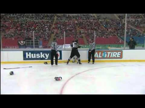 Calgary WHL Outdoor Game Highlights