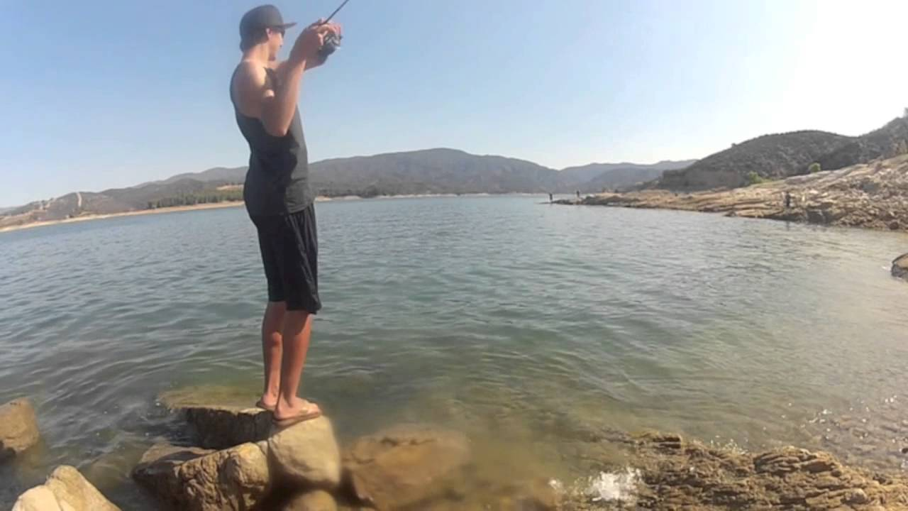 Castaic Lake Bass Fishing - YouTube