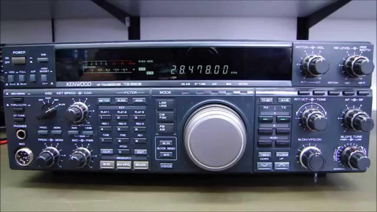ALPHA TELECOM: KENWOOD TS-850SAT COM DESVIO DE FREQUÊNCIA