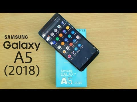 samsung galaxy a5 2018 infinity display youtube. Black Bedroom Furniture Sets. Home Design Ideas