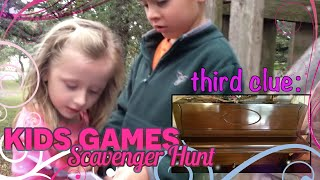 Kids Games - Scavenger hunt kids game