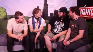 Cage the Elephant - Interview with 101WKQX - PIQNIQ 2015