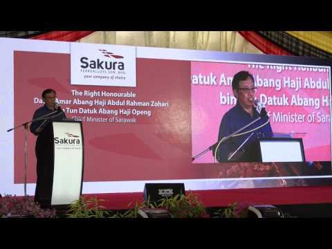 Sakura Ferroalloys Sdn Bhd Opening Ceremony