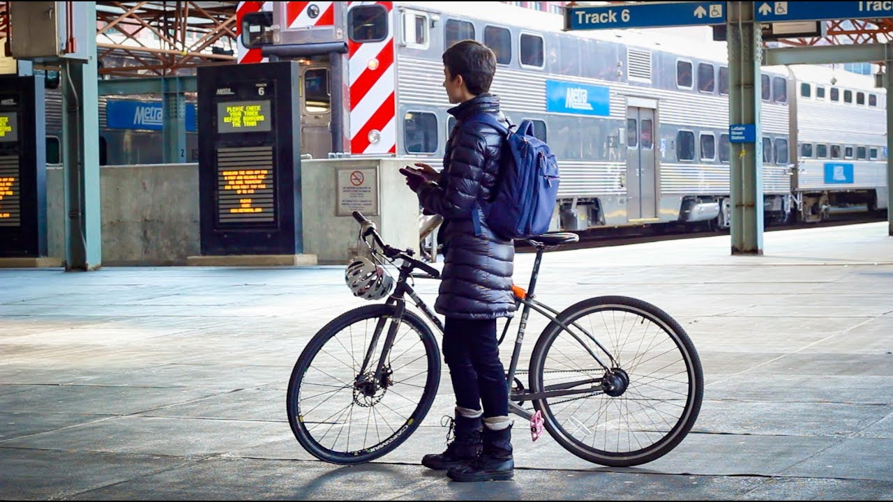 Bikes and E-Scooters on Trains | Metra