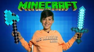 MINECRAFT - как превратить пещеру в уютный дом?
