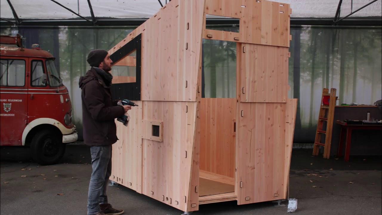 Die Werkhaus Sauna Im Schnellaufbau Youtube