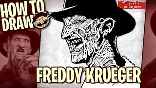 How to Draw FREDDY KRUEGER (A Nightmare on Elm Street) | Narrated Easy Step-by-Step Drawing Tutorial