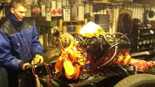Starting a 4,9L Buick Skylark engine from 1966