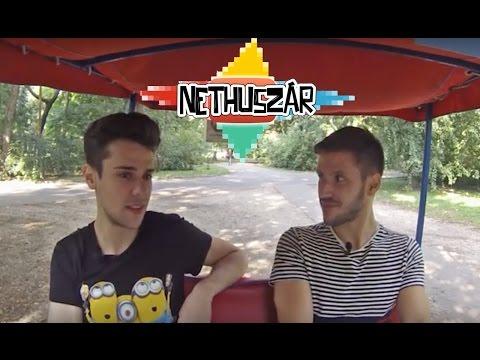 Csebe99, JustVidman, Attila the Bookaholic, Nuheadztv | Nethuszár 1. epizód