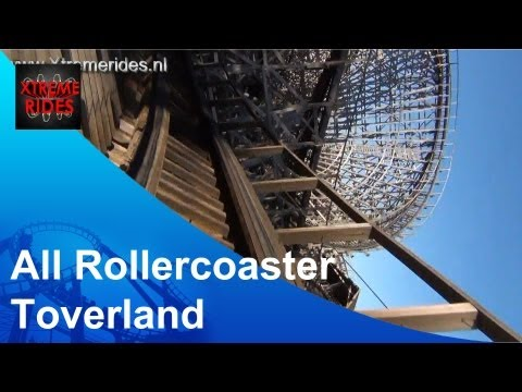 All Rollercoasters Toverland ( 2013 )